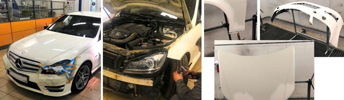 фото этапы кузовного ремонта