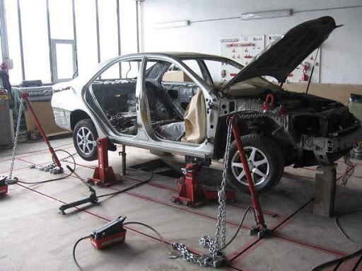 фото восстановить геометрию кузова автомобиля