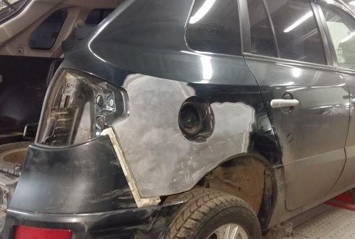 фото ремонт крыла авто