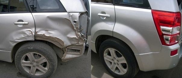 фото результат кузовного ремонта авто
