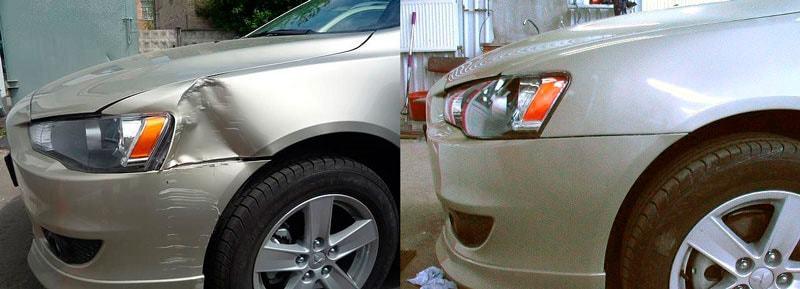 фото кузов автомобиля до и после ремонта