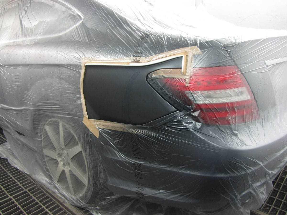 фото локальная покраска авто